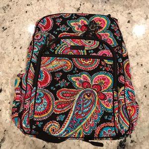 NWT Vera Bradley campus backpack. Parisian paisley